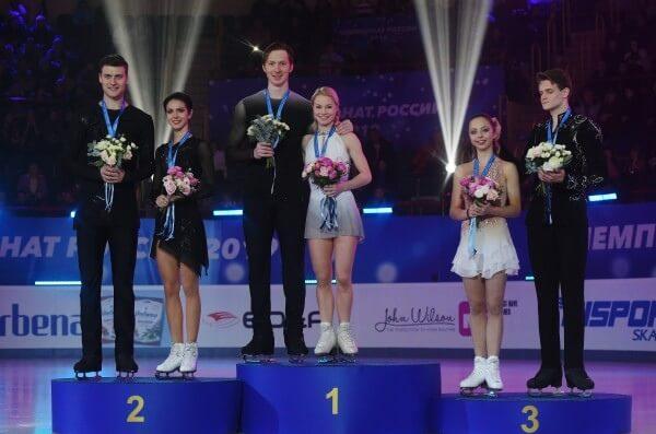 Евгения Тарасова и Владимир Морозов подтвердили свой титул первой спортивной пары страны на Чемпионате России в Саранске