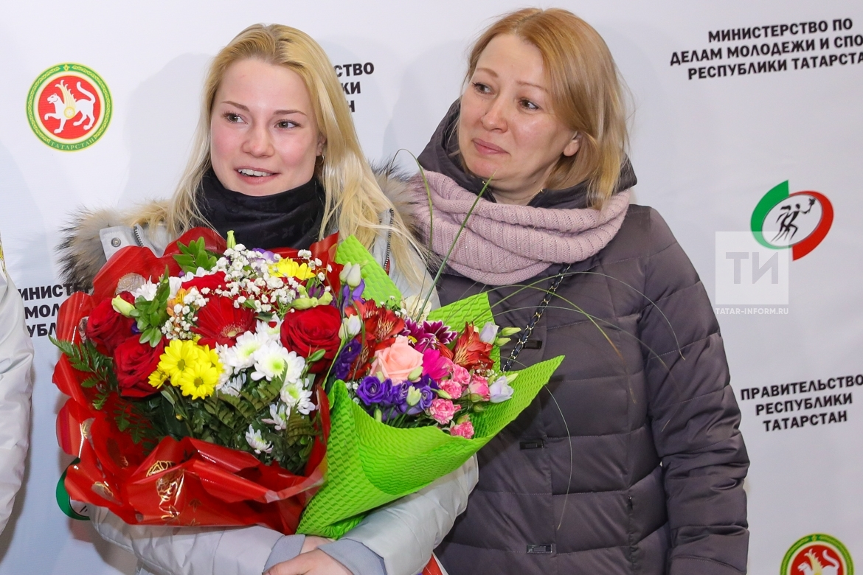 Женечка Тарасова с мамой Татьяной Александровной
