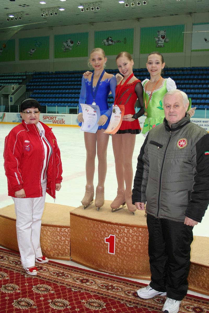Гурикова Д.В. и Головлев В.Д. с призерами соревнований