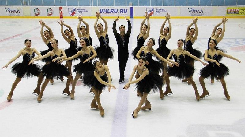 """Команда """"Татарстан"""" 2015 г. Лебединое озеро."""