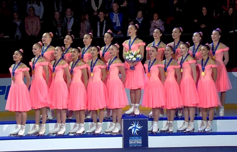 "Чемпионы Мира 2019 г. команда ""Парадиз"" (Санкт-Петербург)"