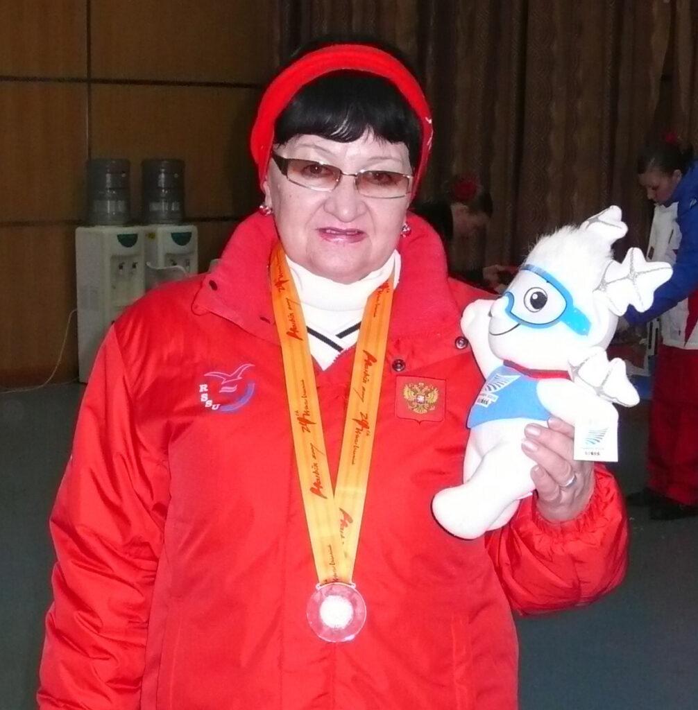 Диляра Валеевна Гурикова. 2009 г. Харбин. Зимняя Универсиада.