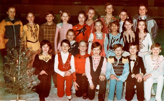 Мазитова Э.М. с группой танцев на льду