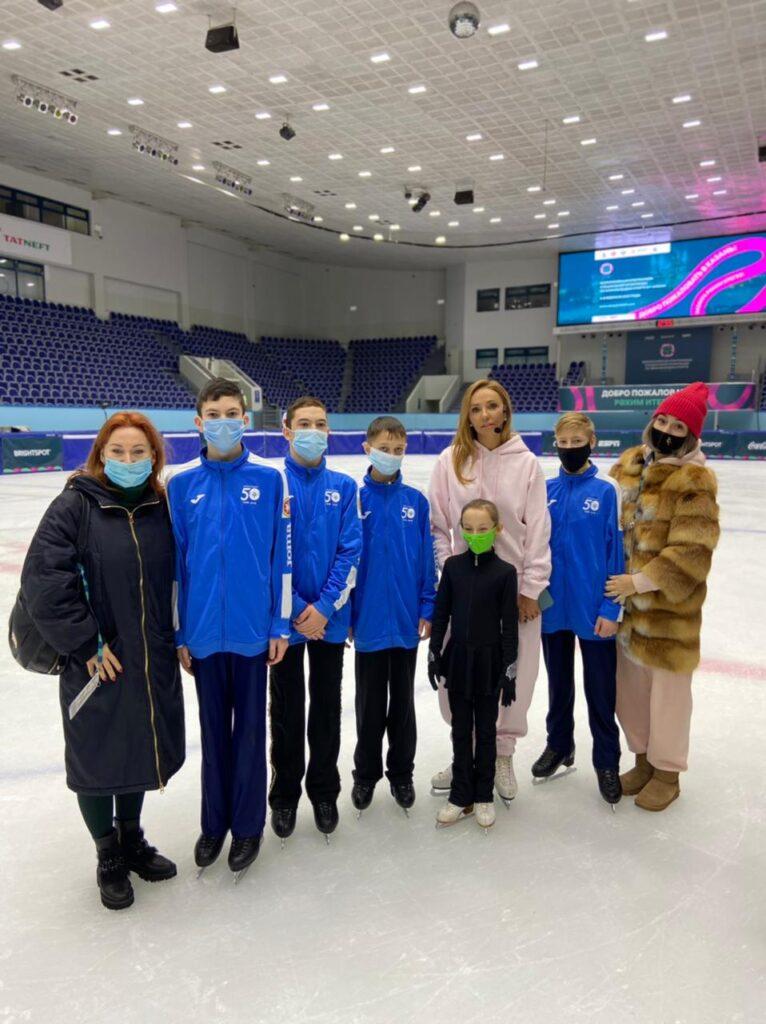 После мастер-класса с олимпийской чемпионкой Татьяной Навкой