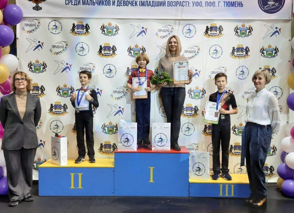 Награждение мальчиков (младшая группа). 1 место - Илья Мальков
